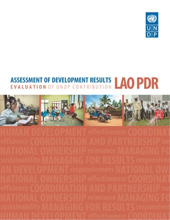 image of Assessment of Development Results - Lao PDR (Second Assessment)