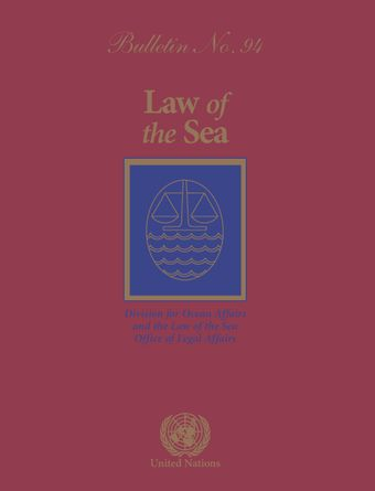 Law of the Sea Bulletin, No. 94