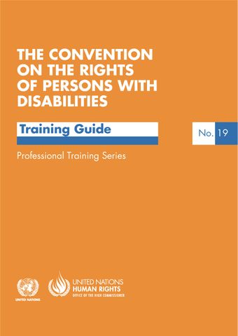 image of The convention on the rights of persons with disabilities
