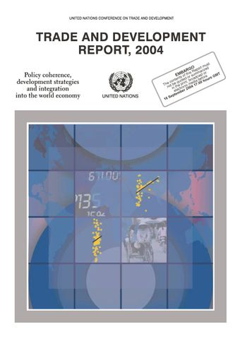 image of Trade and Development Report 2004