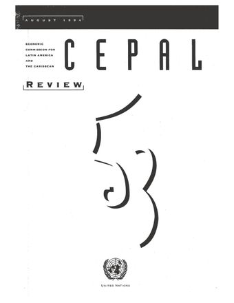 CEPAL Review No. 53, August 1994
