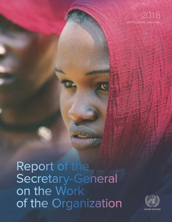 image of Report of the Secretary-General on the Work of the Organization