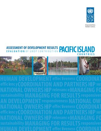image of Assessment of Development Results - Pacific Island Countries