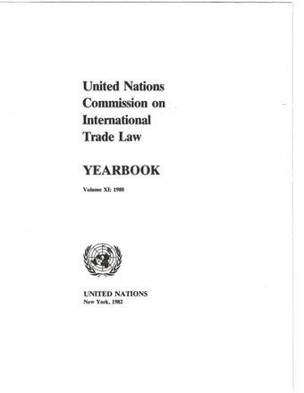 image of United Nations Commission on International Trade Law (UNCITRAL) Yearbook 1980