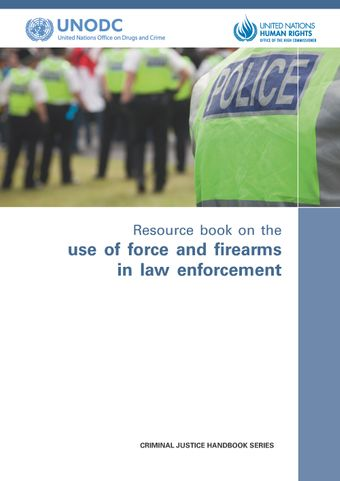 image of Resource Book on the Use of Force and Firearms in Law Enforcement