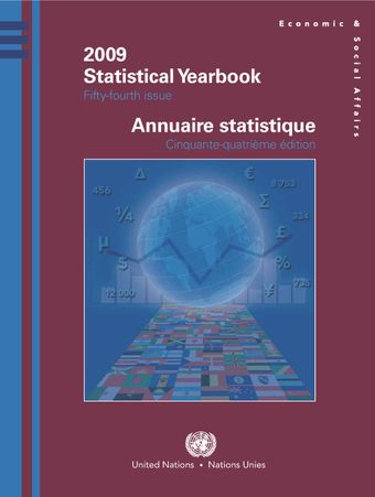 image of Statistical Yearbook 2009