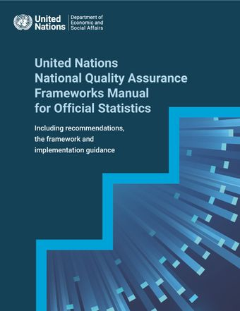 image of United Nations National Quality Assurance Frameworks Manual for Official Statistics