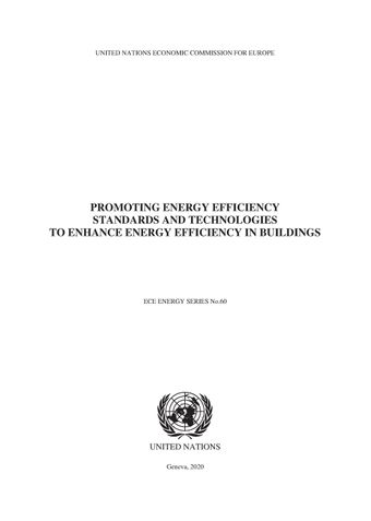 image of Promoting Energy Efficiency Standards and Technologies to Enhance Energy Efficiency in Buildings