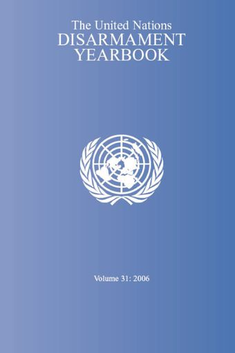 image of Nuclear disarmament and non-proliferation issues