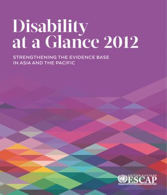 image of Disability at a Glance 2012