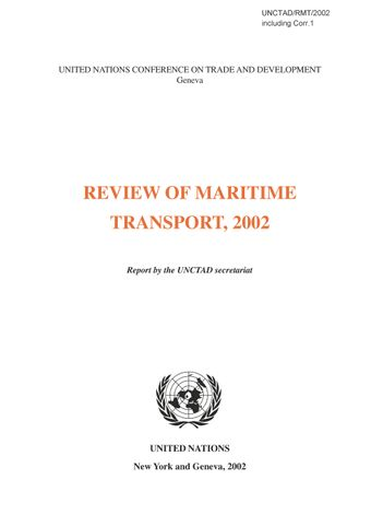 image of Review of Maritime Transport 2002