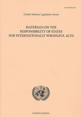 image of Responsibility of a state in connection with the act of another state
