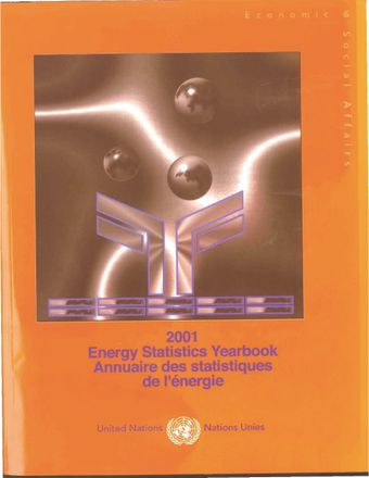 image of Energy Statistics Yearbook 2001