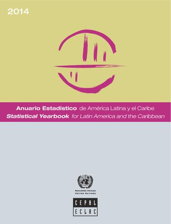 image of Statistical yearbook for Latin America and the Caribbean 2014