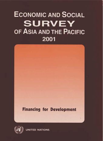 image of Economic and Social Survey of Asia and the Pacific 2001
