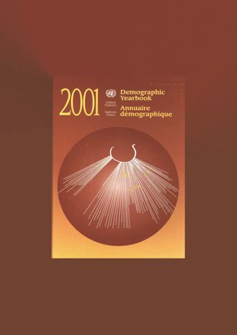 image of Topics of the Demographic Yearbook series: 1948 - 2001