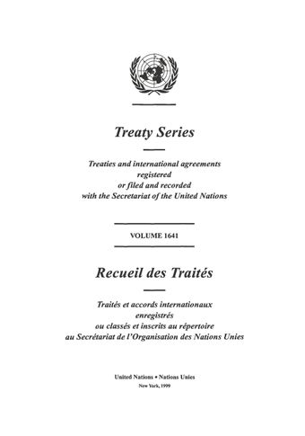 image of Treaty Series 1641
