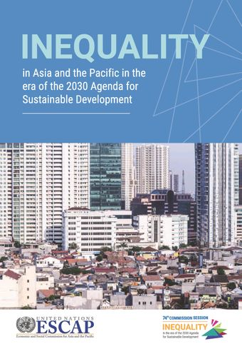 image of Inequality in Asia and the Pacific in the Era of the 2030 Agenda for Sustainable Development