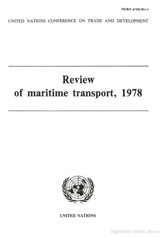 image of Review of Maritime Transport 1978