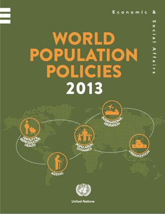 image of World population policies 2013