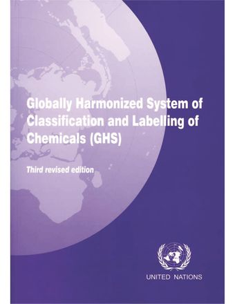 image of Classification of hazardous substances and mixtures