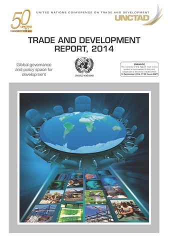 image of Trade and development report 2014