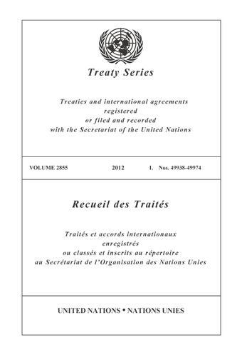 image of Treaty Series 2855