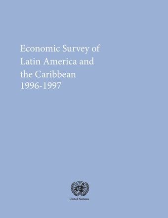 image of Economic Survey of Latin America and the Caribbean 1996-1997