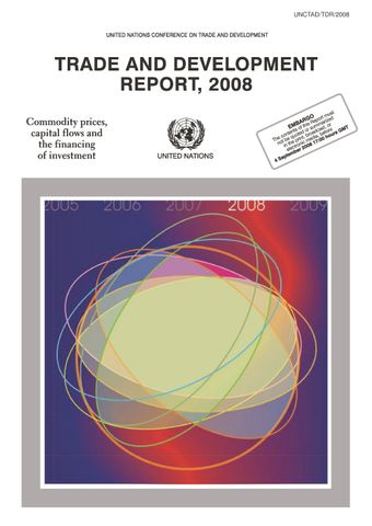 image of Trade and Development Report 2008