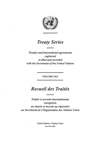 image of Treaty Series 1913