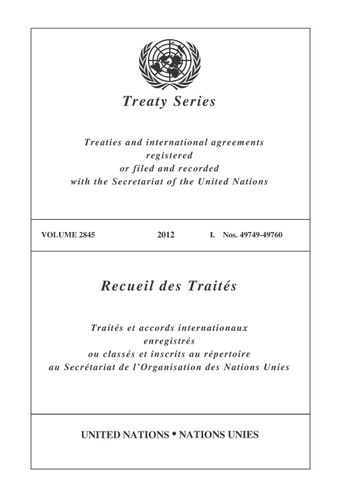 image of Treaty Series 2845