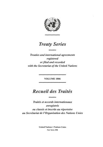 image of Treaty Series 1806