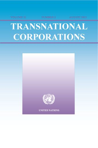 Transnational Corporations, August 2012