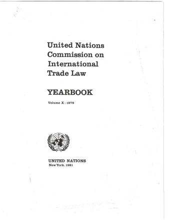 image of The eleventh session (1978); comments and action with respect to the commission's report