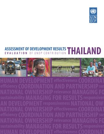 image of Assessment of Development Results - Thailand