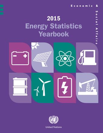 image of Energy Statistics Yearbook 2015