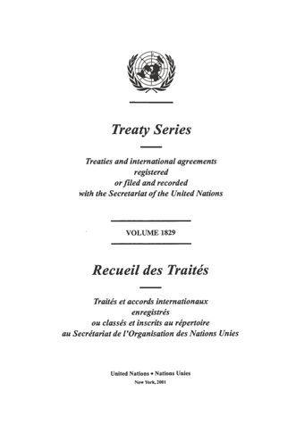 image of Treaty Series 1829