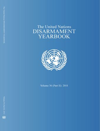image of United Nations Disarmament Yearbook 2011: Part II