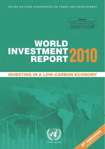 image of World Investment Report 2010