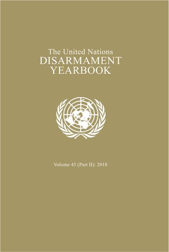 image of United Nations Disarmament Yearbook 2018: Part II