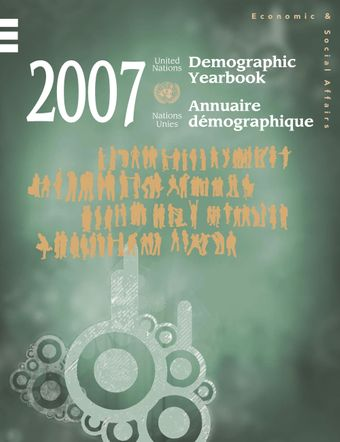 image of United Nations Demographic Yearbook 2007