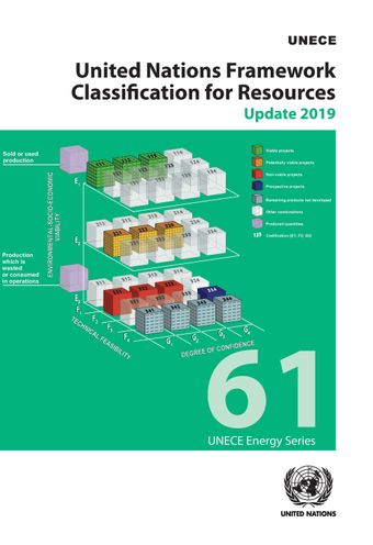 image of United Nations Framework Classification for Resources