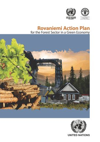 image of The Rovaniemi Action Plan for the Forest Sector in a Green Economy