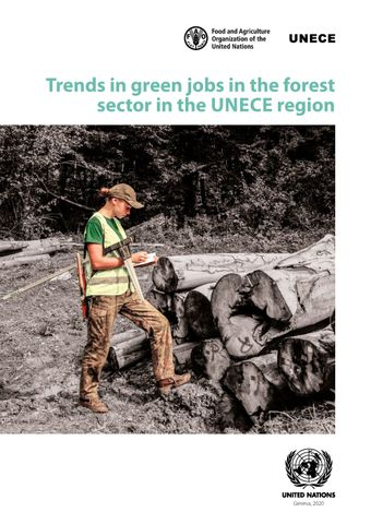 image of Trends in Green Jobs in the Forest Sector in the UNECE Region