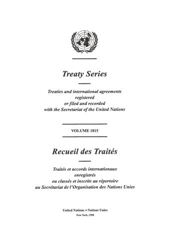 image of Treaty Series 1815