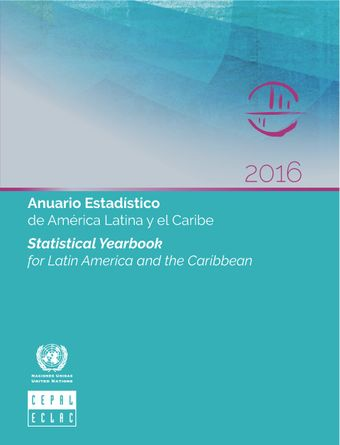 image of Statistical Yearbook for Latin America and the Caribbean 2016
