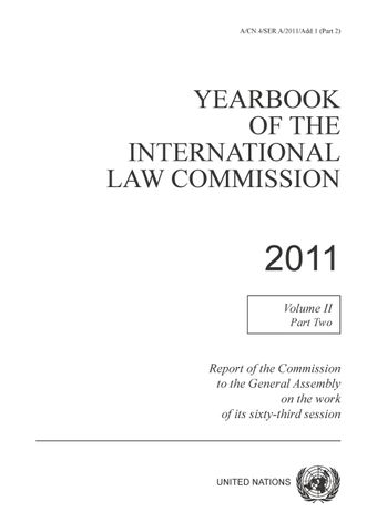 image of Yearbook of the International Law Commission 2011, Vol. II, Part 2