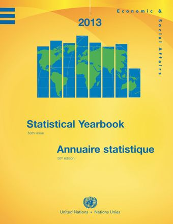 image of Statistical Yearbook 2013