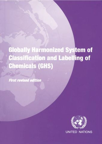 image of Globally Harmonized System of Classification and Labelling of Chemicals (GHS)