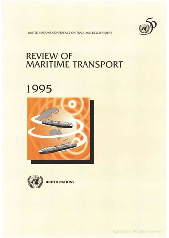 image of Review of Maritime Transport 1995